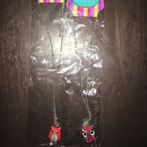 Jewelry - Two Owl Necklaces